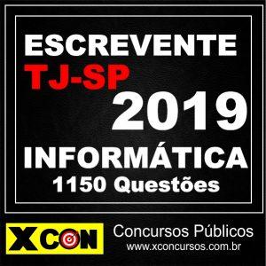 1150 questões de Informatica TJSP