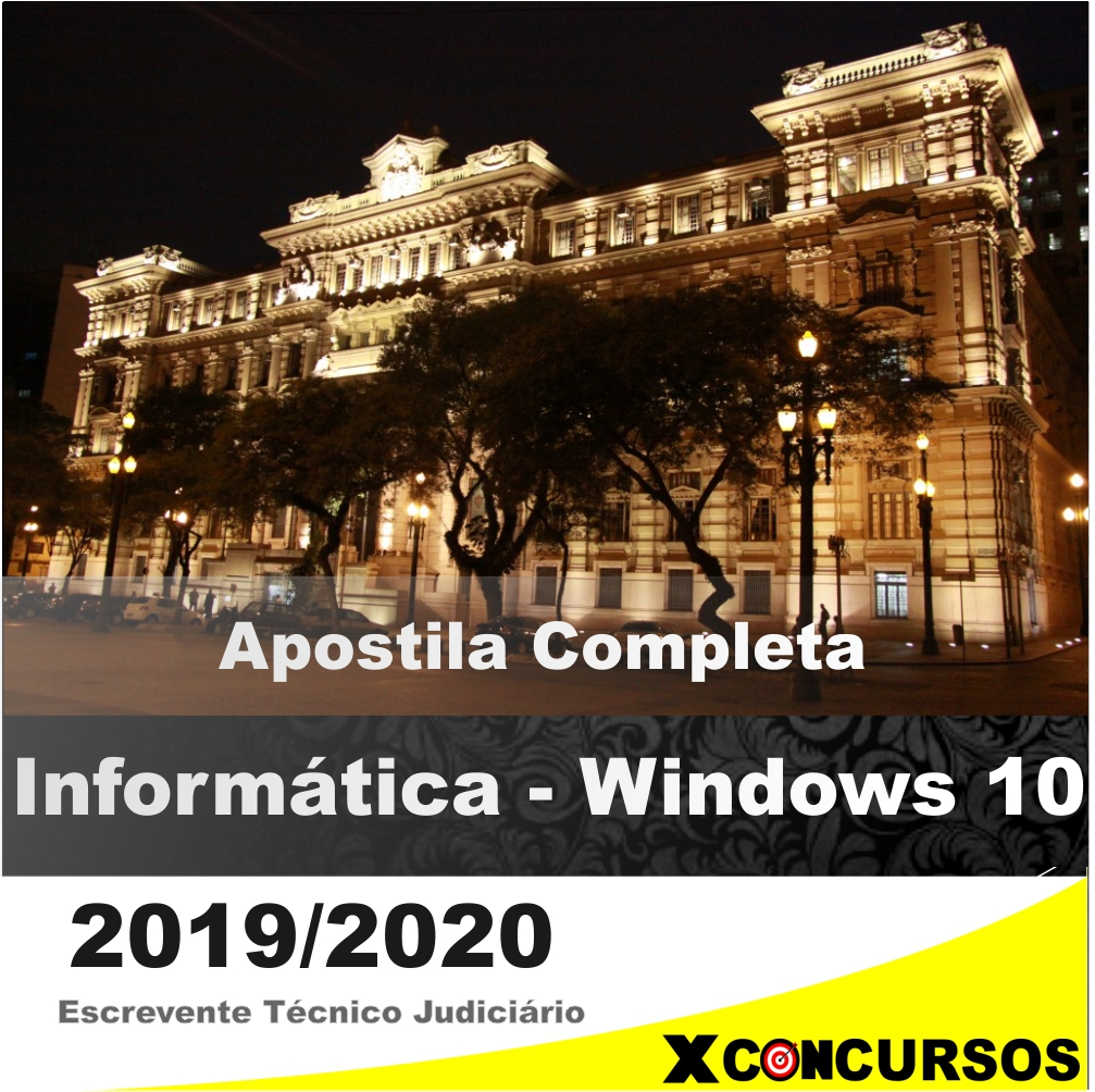 WINDOWS 10 – TJ-SP 2019/2020